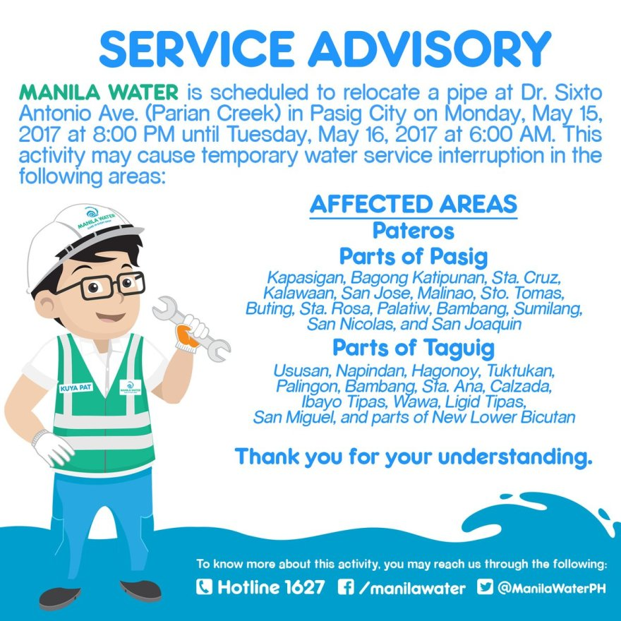 ManilaWater_SvcInterruption