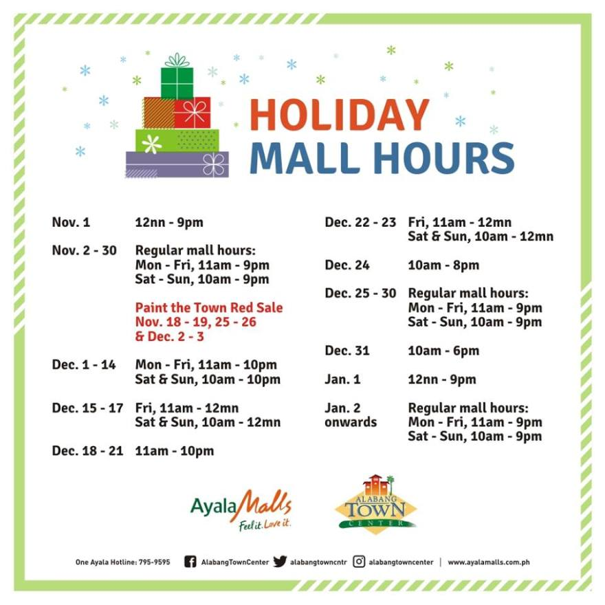 Metro savvy be updated be in the know be savvy alabang town center holiday mall hours stopboris Images